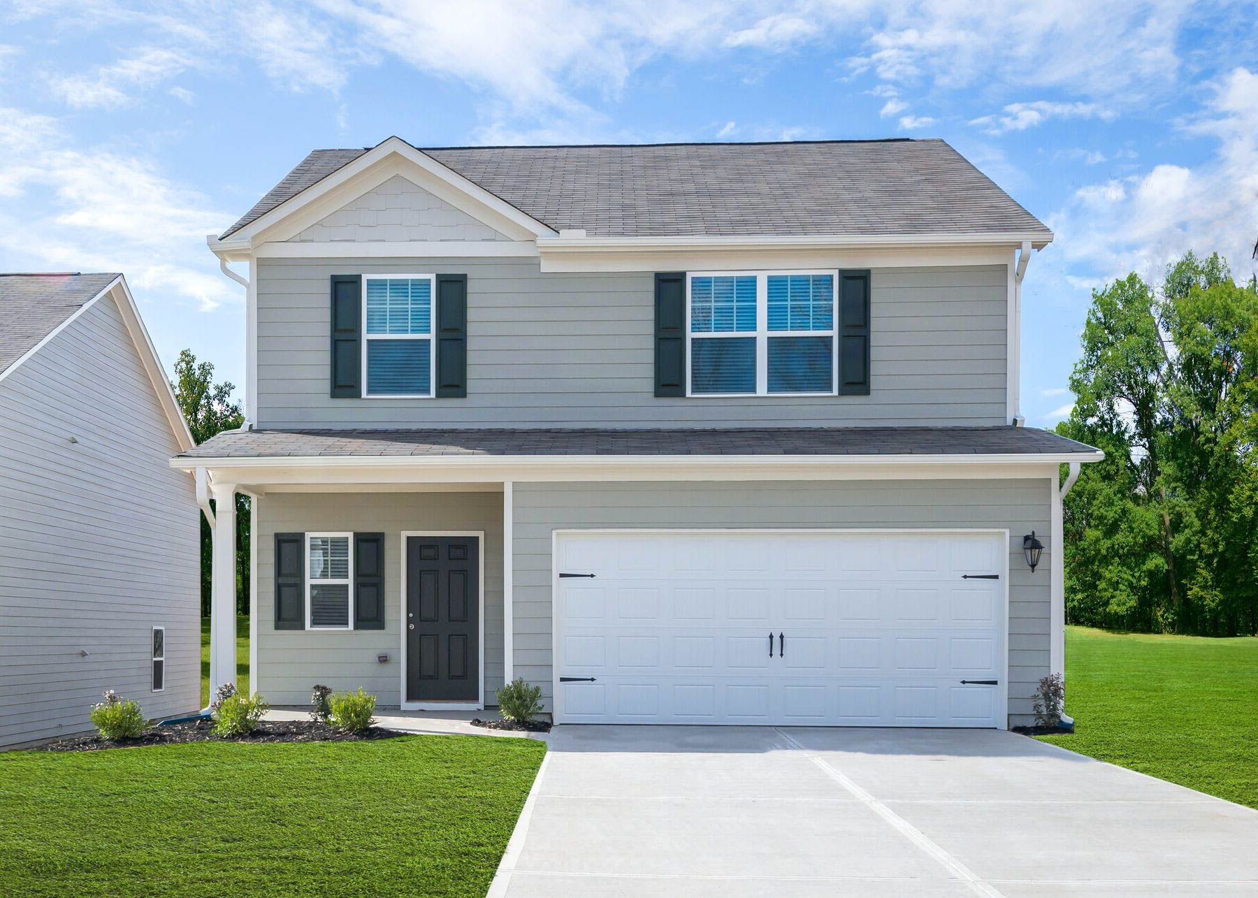 Exterior featured in the Camden By LGI Homes in Birmingham, AL