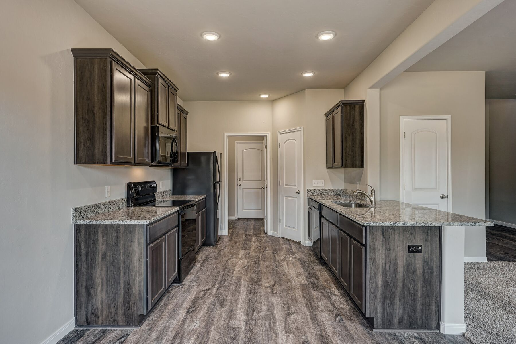 Kitchen featured in the Cypress By LGI Homes in Oklahoma City, OK