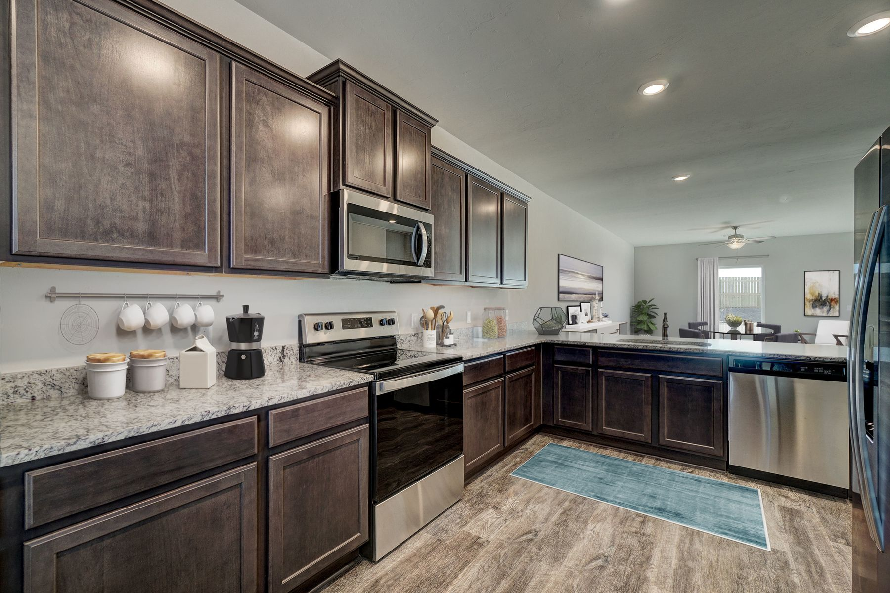 Kitchen featured in the Driftwood By LGI Homes in Oklahoma City, OK