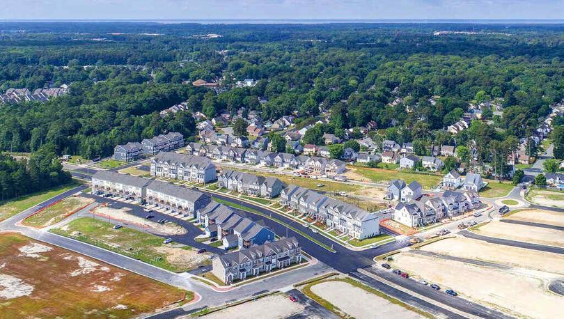 'Huntington Pointe' by LGI Homes in Norfolk-Newport News