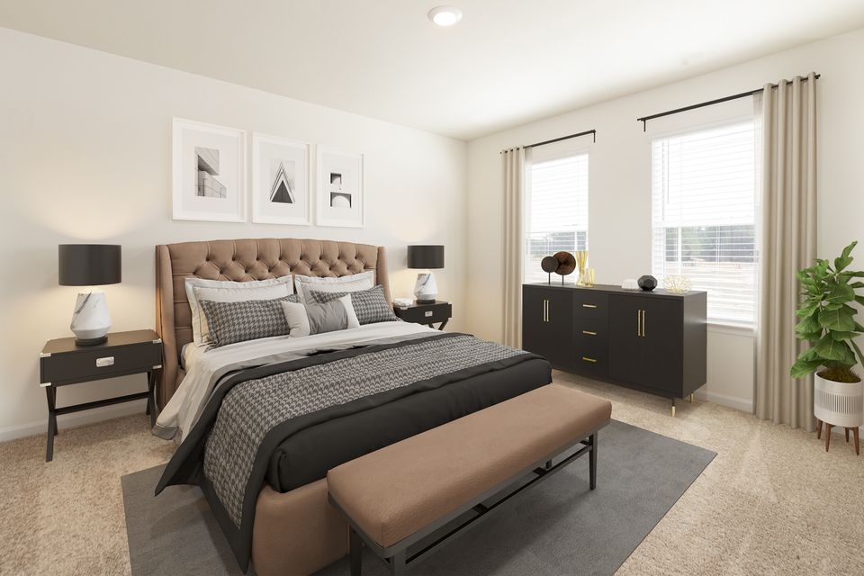 Bedroom featured in the William By LGI Homes in Norfolk-Newport News, VA