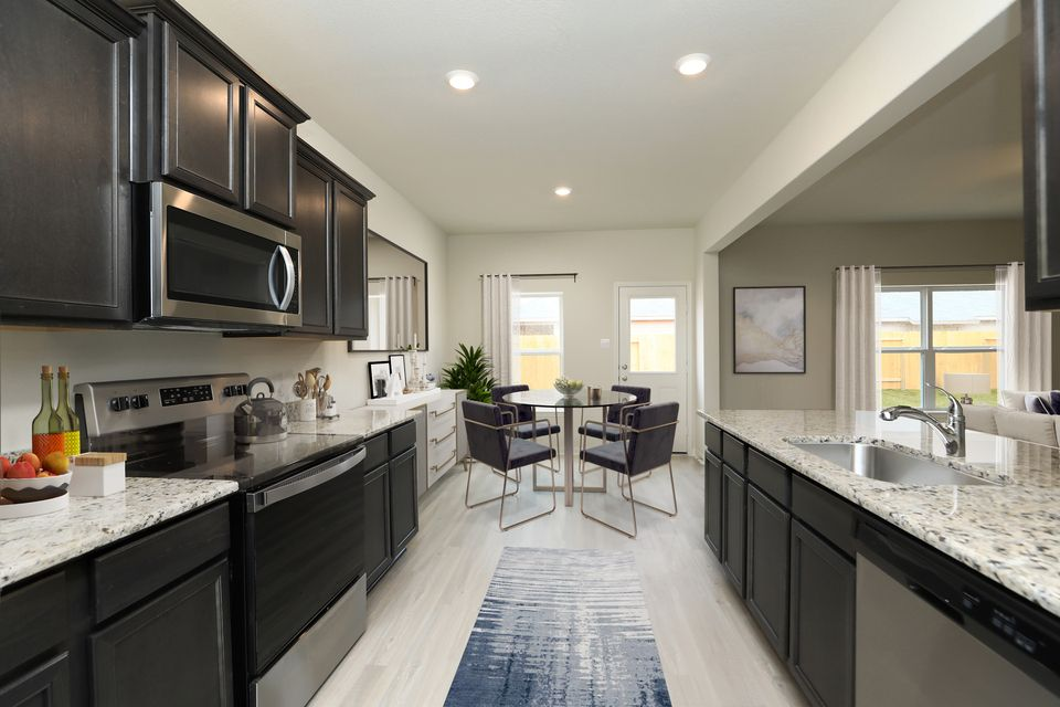 Kitchen featured in the Cypress By LGI Homes in Houston, TX
