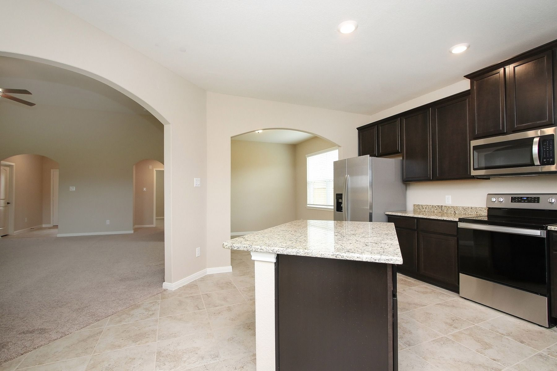 Kitchen featured in the Hendrie  By LGI Homes in Houston, TX