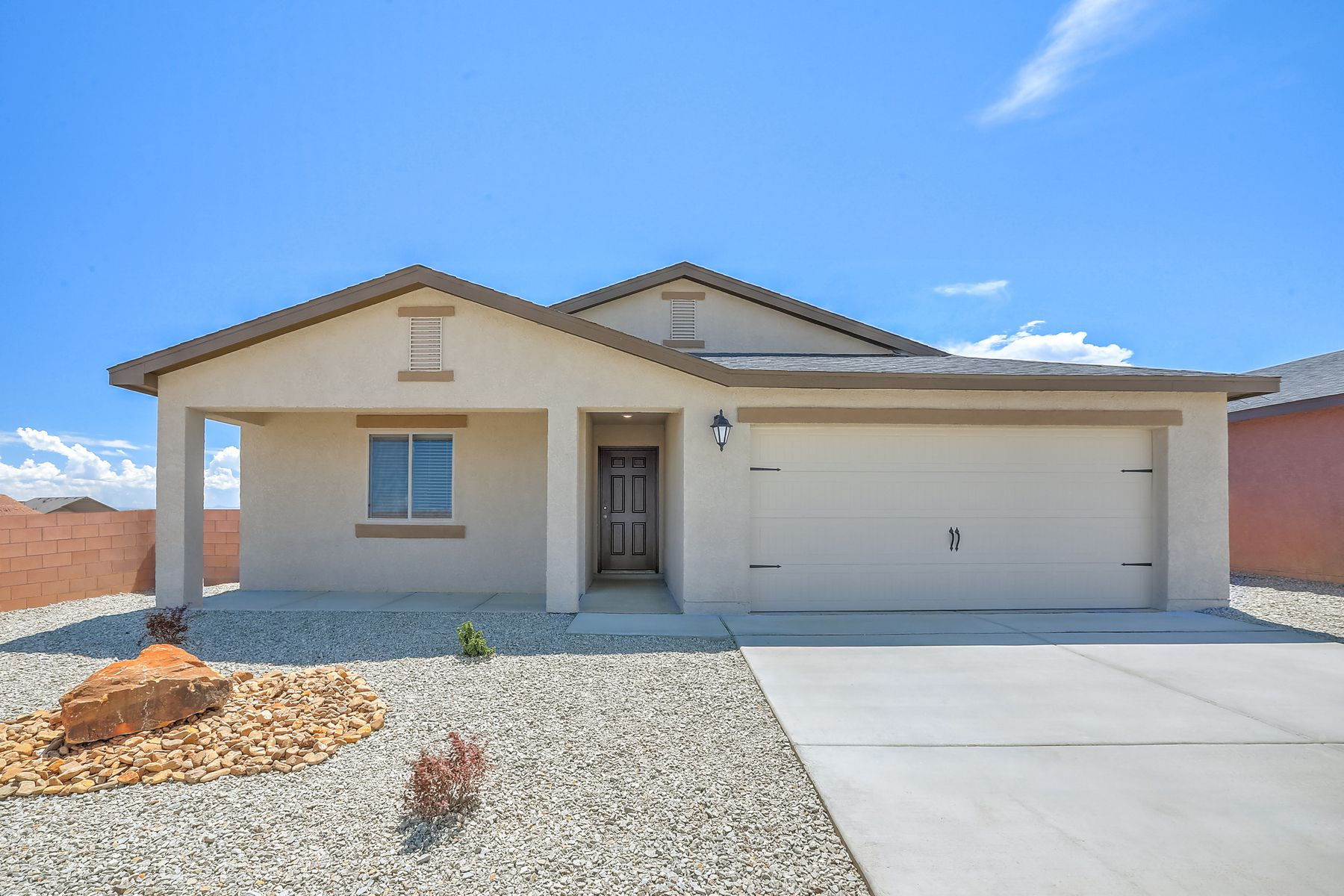 Exterior featured in the Madrid By LGI Homes in Albuquerque, NM