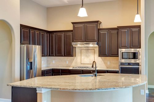 Kitchen-in-Mantle-at-Potranco Ranch-in-Castroville