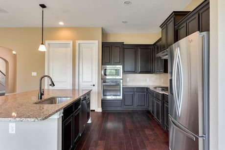 Kitchen-in-Gehrig-at-Potranco Ranch-in-Castroville