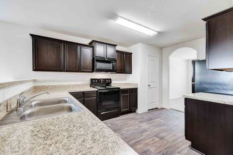 Kitchen-in-Maple-at-Liberty Parke-in-Liberty Hill