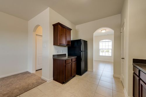 Kitchen-in-Maple-at-Sterling Lakes-in-Iowa Colony