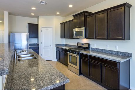 Kitchen-in-Cimarron-at-Magma Ranch-in-Florence