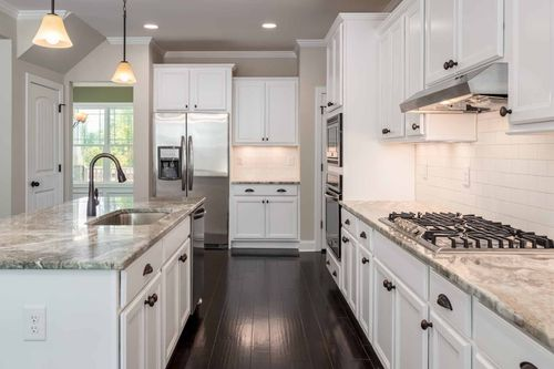 Kitchen-in-Abbey-at-Addyson at Holden Road-in-Youngsville