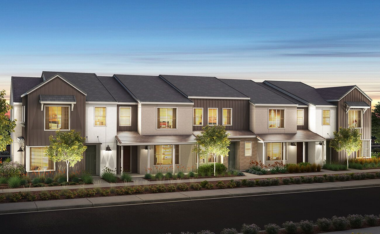Exterior featured in the Plan Five By Landsea Homes in Ventura, CA