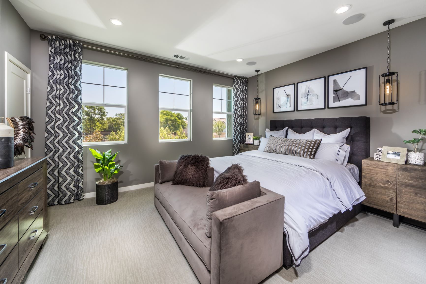 Bedroom featured in the Plan Four By Landsea Homes in Ventura, CA