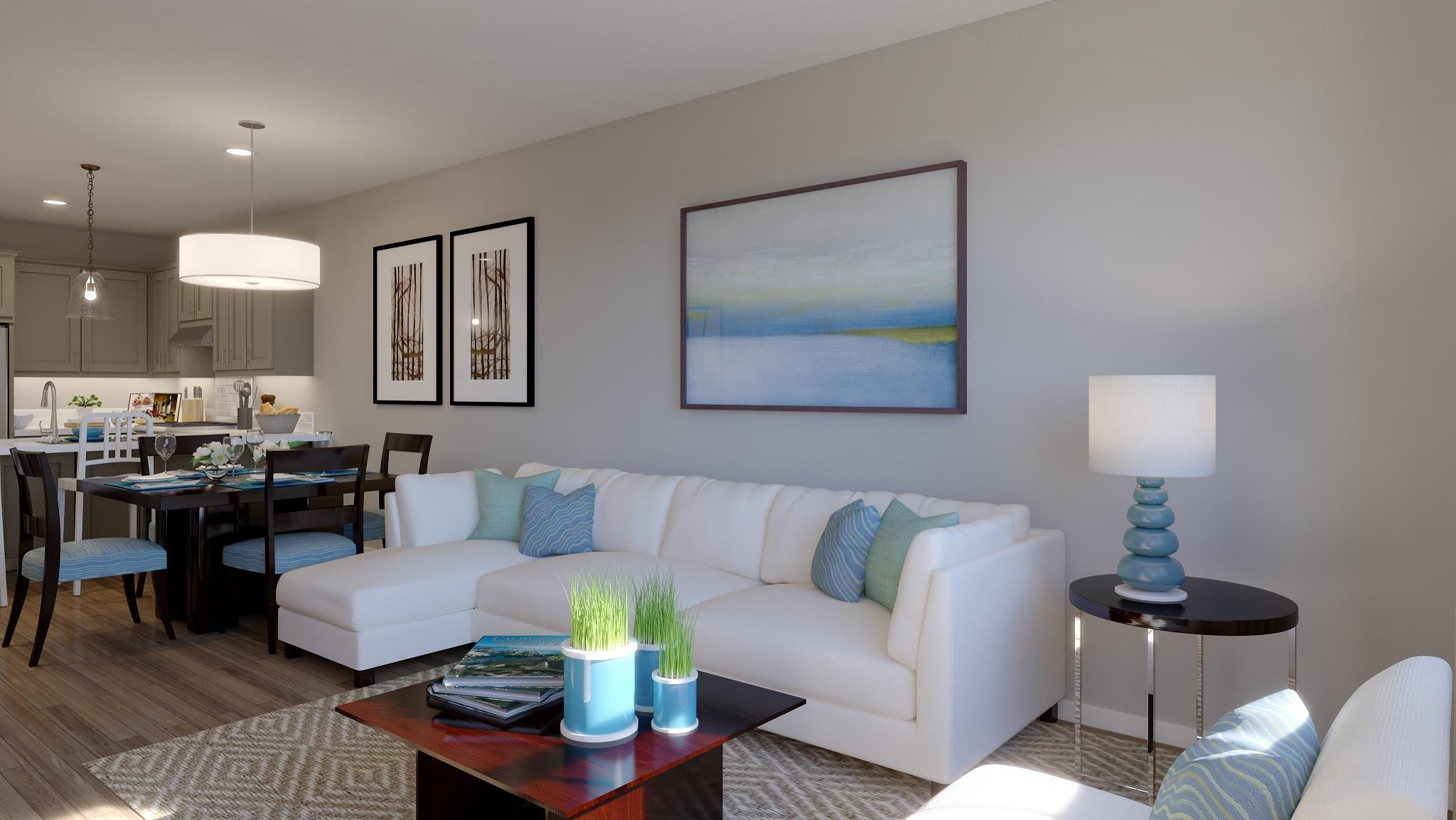 Living Area featured in the Plan Two By Landsea Homes in San Jose, CA