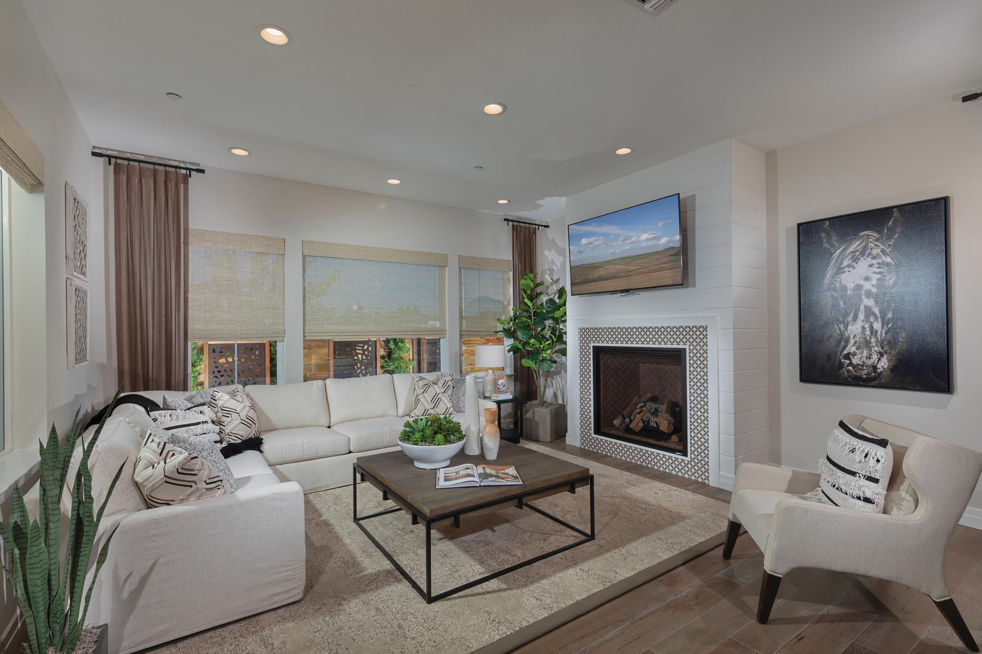 Living Area featured in the Skylark Plan One By Landsea Homes in Oakland-Alameda, CA