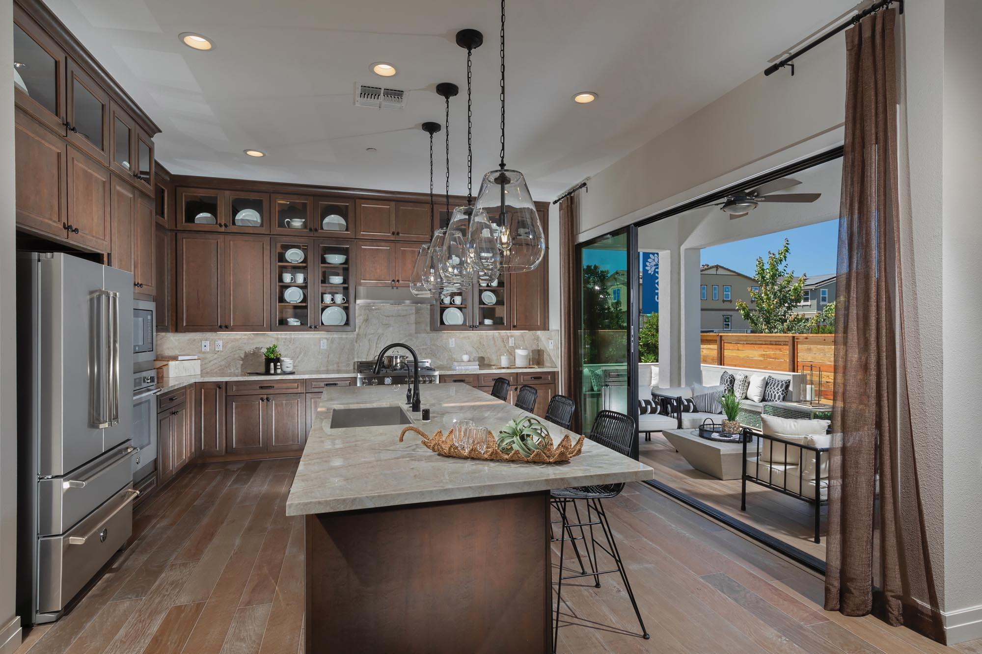 Kitchen featured in the Skylark Plan One By Landsea Homes in Oakland-Alameda, CA