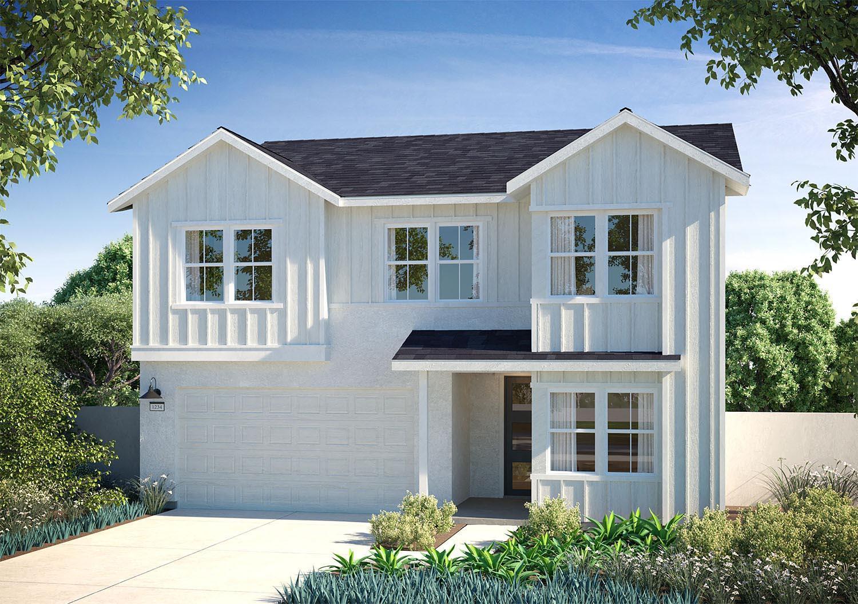 Exterior featured in the Plan 3 By Landsea Homes in Riverside-San Bernardino, CA