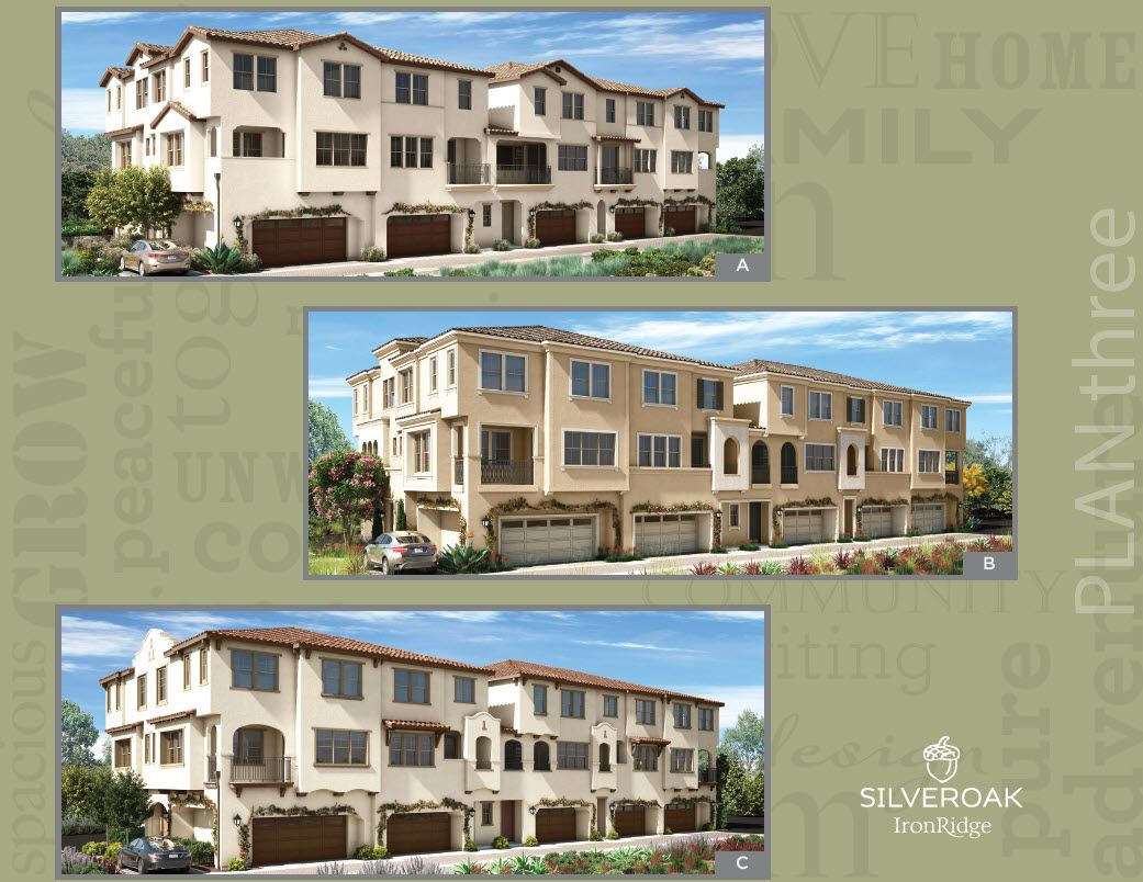 Exterior featured in the Plan Two By Landsea Homes in Orange County, CA