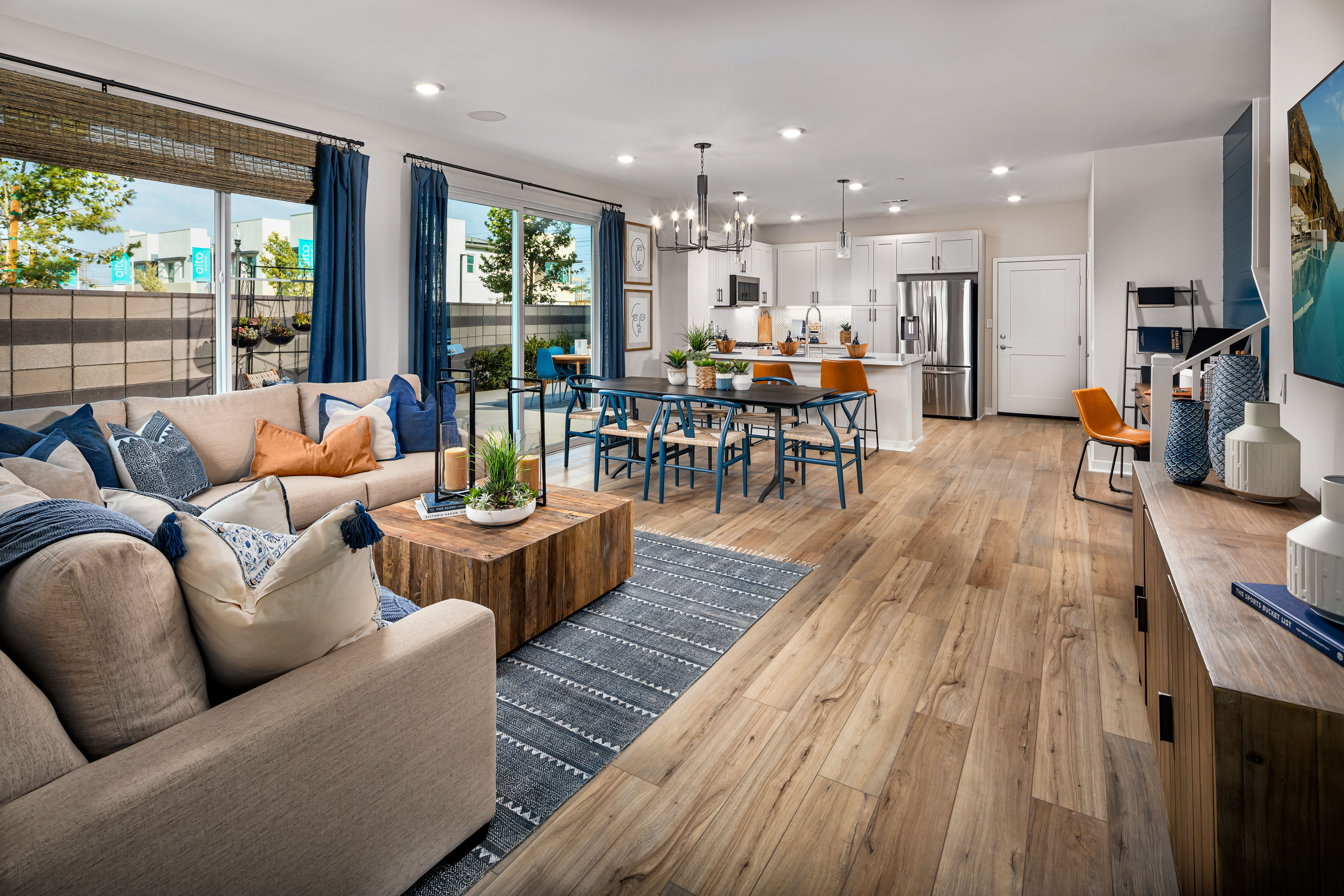 Living Area featured in the eave Plan 5 ACC By Landsea Homes in Riverside-San Bernardino, CA