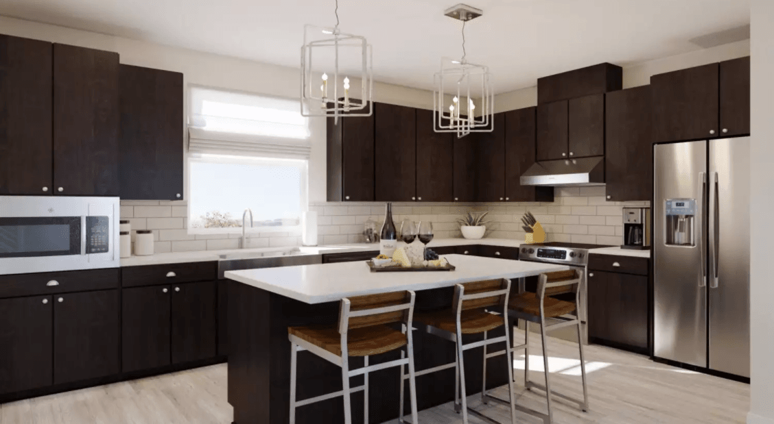 Kitchen featured in the Verandah- Residence 4 Option 1 By Landsea Homes in San Francisco, CA