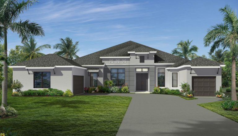 Exterior featured in the Tabitha II By Landsea Homes in Melbourne, FL