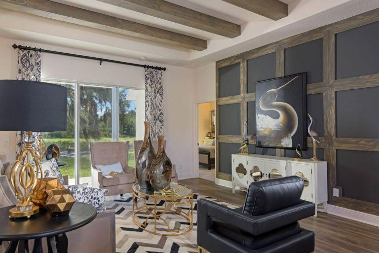 Living Area featured in the Briella By Landsea Homes in Melbourne, FL