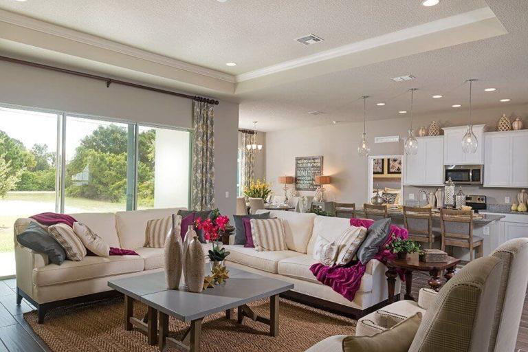 Living Area featured in the Florence By Landsea Homes in Melbourne, FL