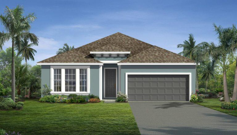 Exterior featured in the Heather By Landsea Homes in Melbourne, FL