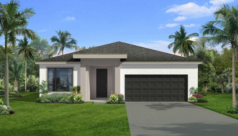 Exterior featured in the Hannah By Landsea Homes in Melbourne, FL