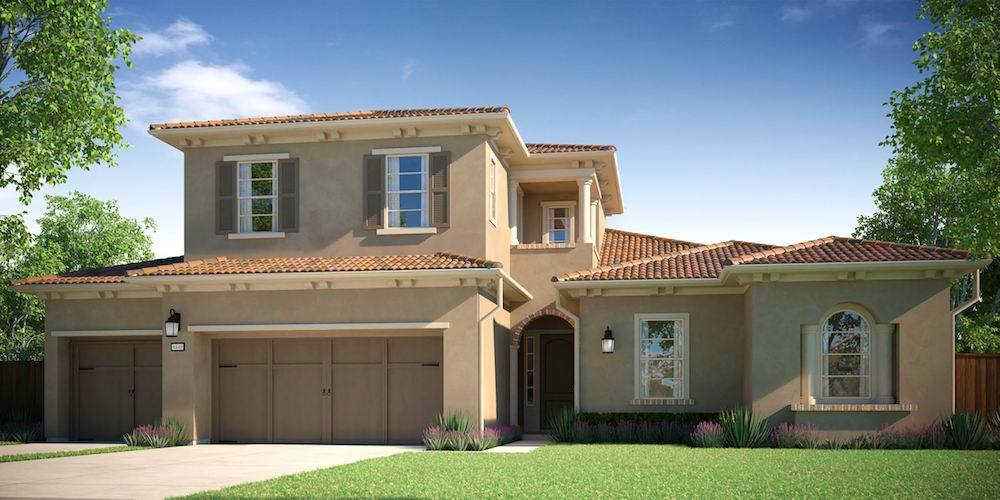 Exterior featured in the Bella Lago - Residence 1 By Lafferty Communities in Stockton-Lodi, CA