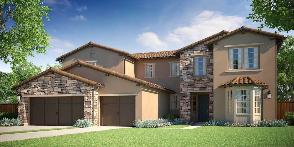 Exterior featured in the Bella Lago - Residence 2 By Lafferty Communities in Stockton-Lodi, CA