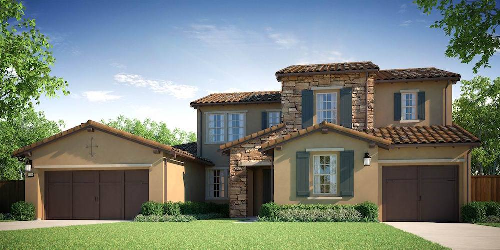 Exterior featured in the Bella Lago - Residence 3 By Lafferty Communities in Stockton-Lodi, CA