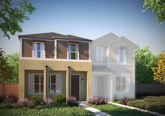 Exterior featured in the Rowhouse B By Lafferty Communities in Santa Rosa, CA