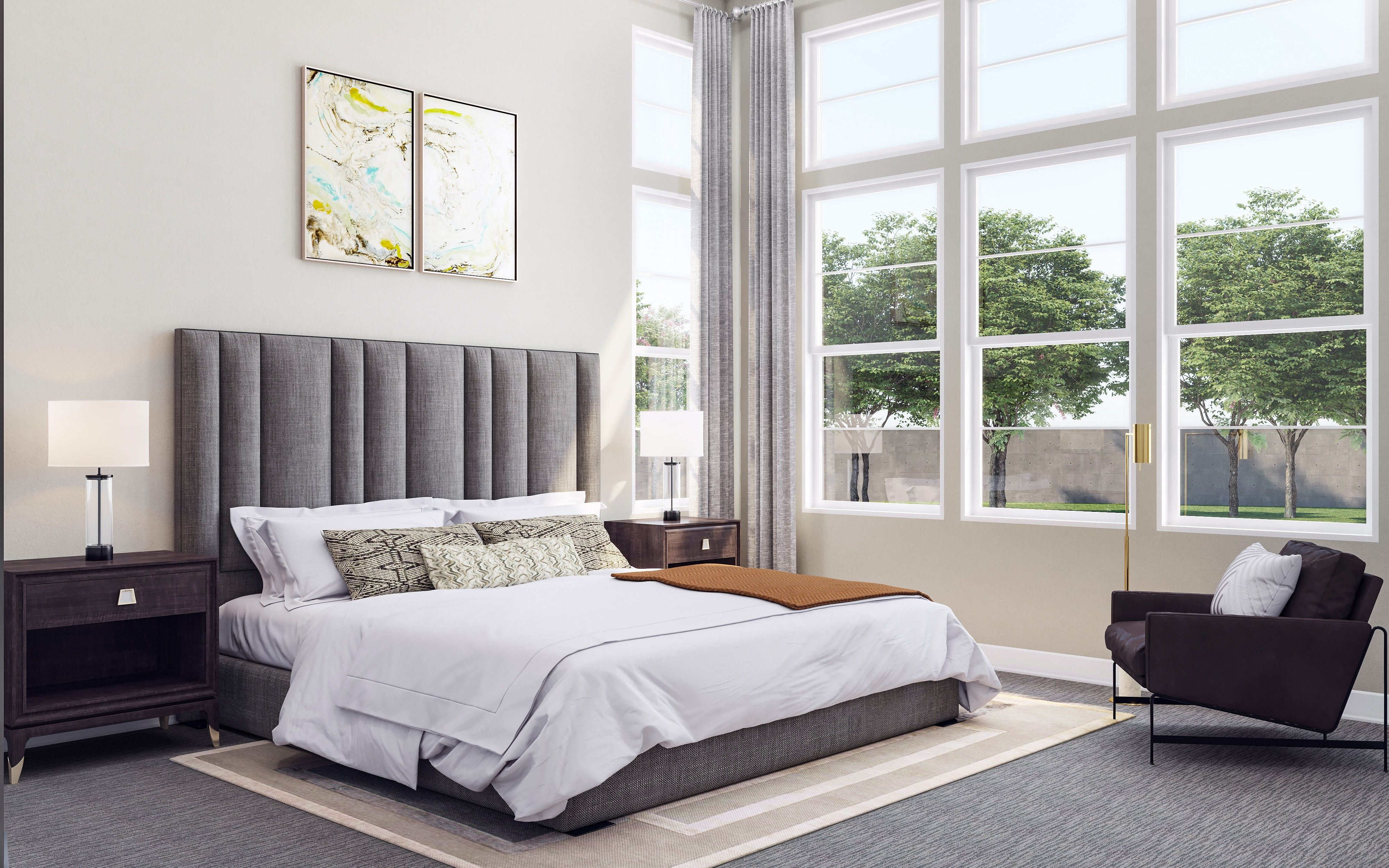Bedroom featured in the Lot 1 By Lafferty Communities in Santa Rosa, CA