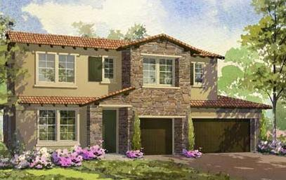 Exterior featured in the Bella Vista - Residence 4 By Lafferty Communities in Stockton-Lodi, CA