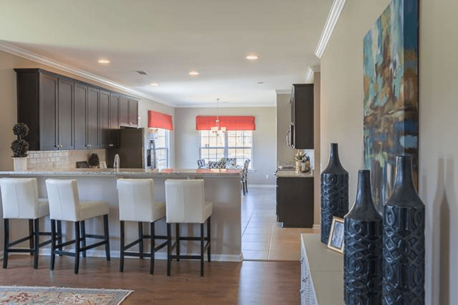 Kitchen featured in The Savannah (Build on your lot) By Lamar Smith Homes in Savannah, GA