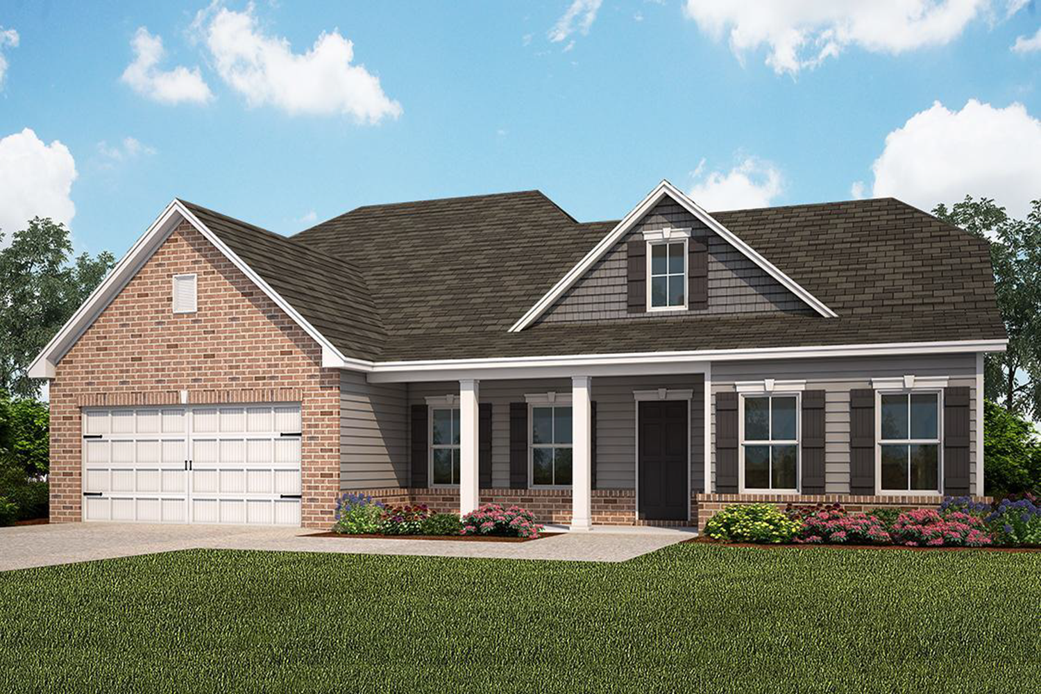 Exterior featured in The Grayson (Build on your lot) By Lamar Smith Homes in Savannah, GA
