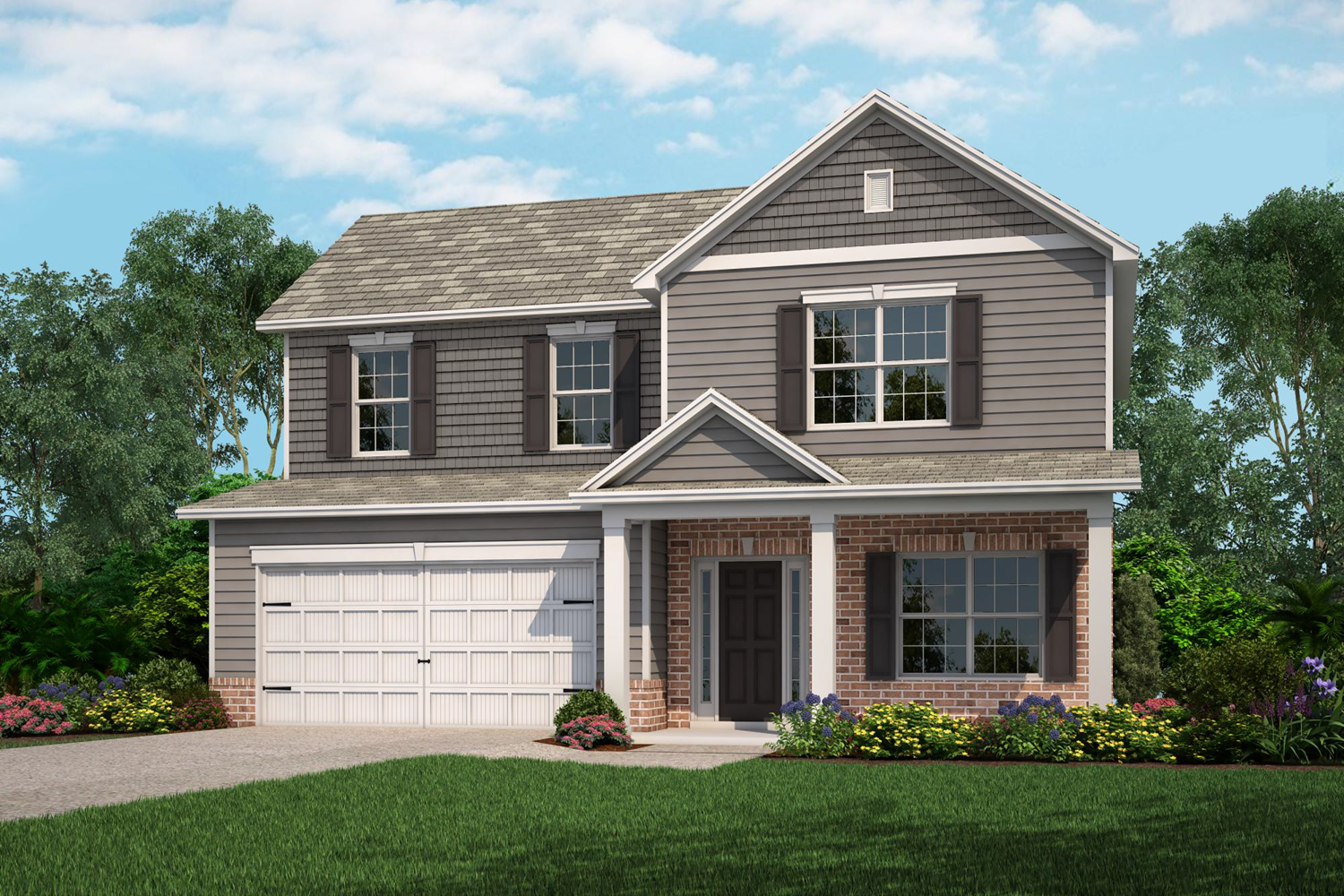 Exterior featured in The Hatteras By Lamar Smith Homes in Savannah, GA