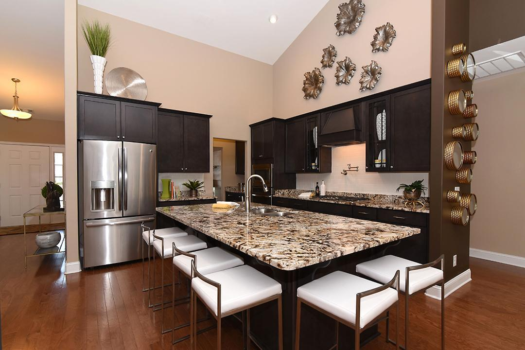 Kitchen featured in The Woodland Villa By Lamar Smith Homes in Savannah, GA