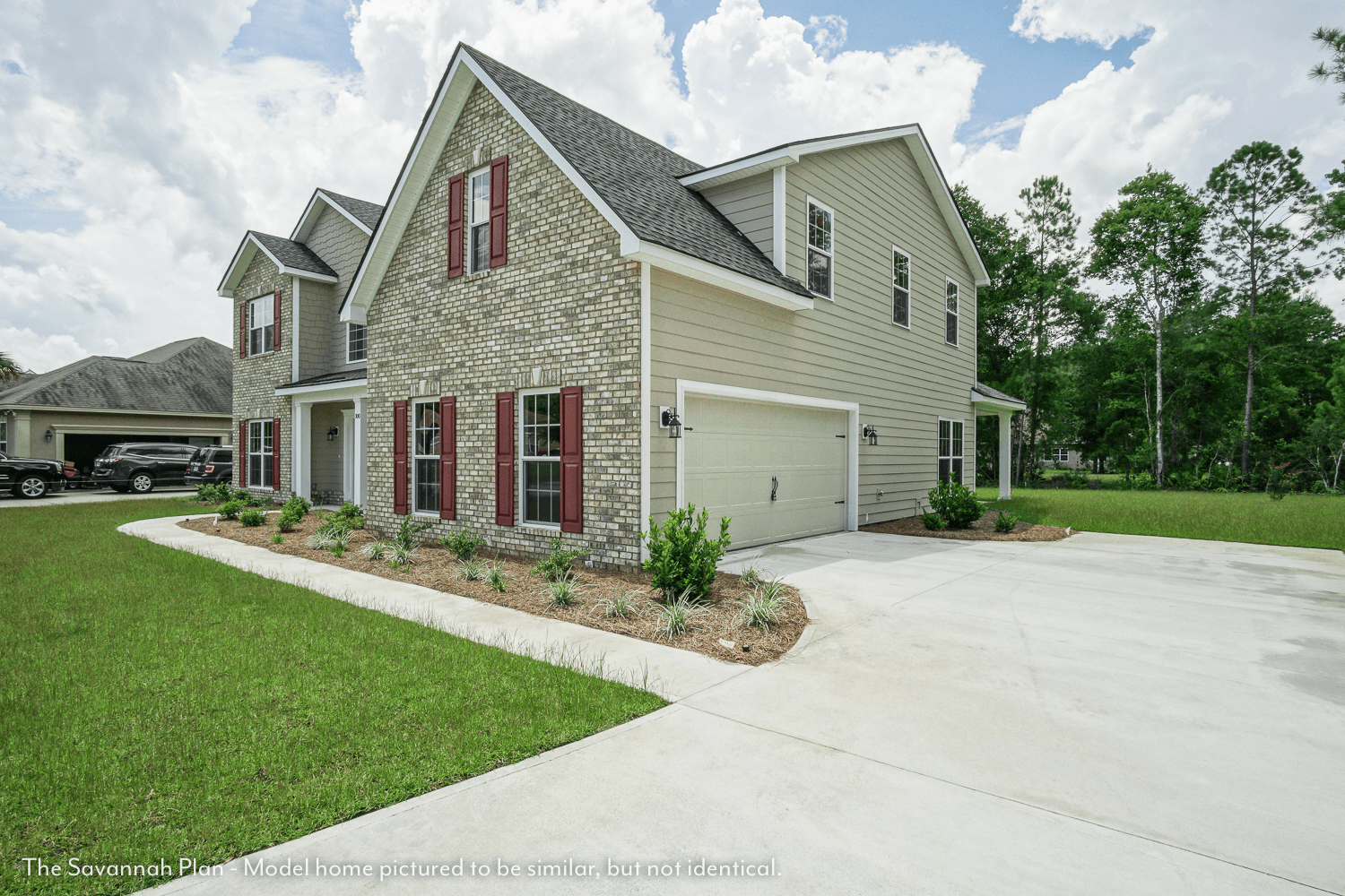 Exterior featured in The Savannah (Build on your lot) By Lamar Smith Homes in Savannah, GA