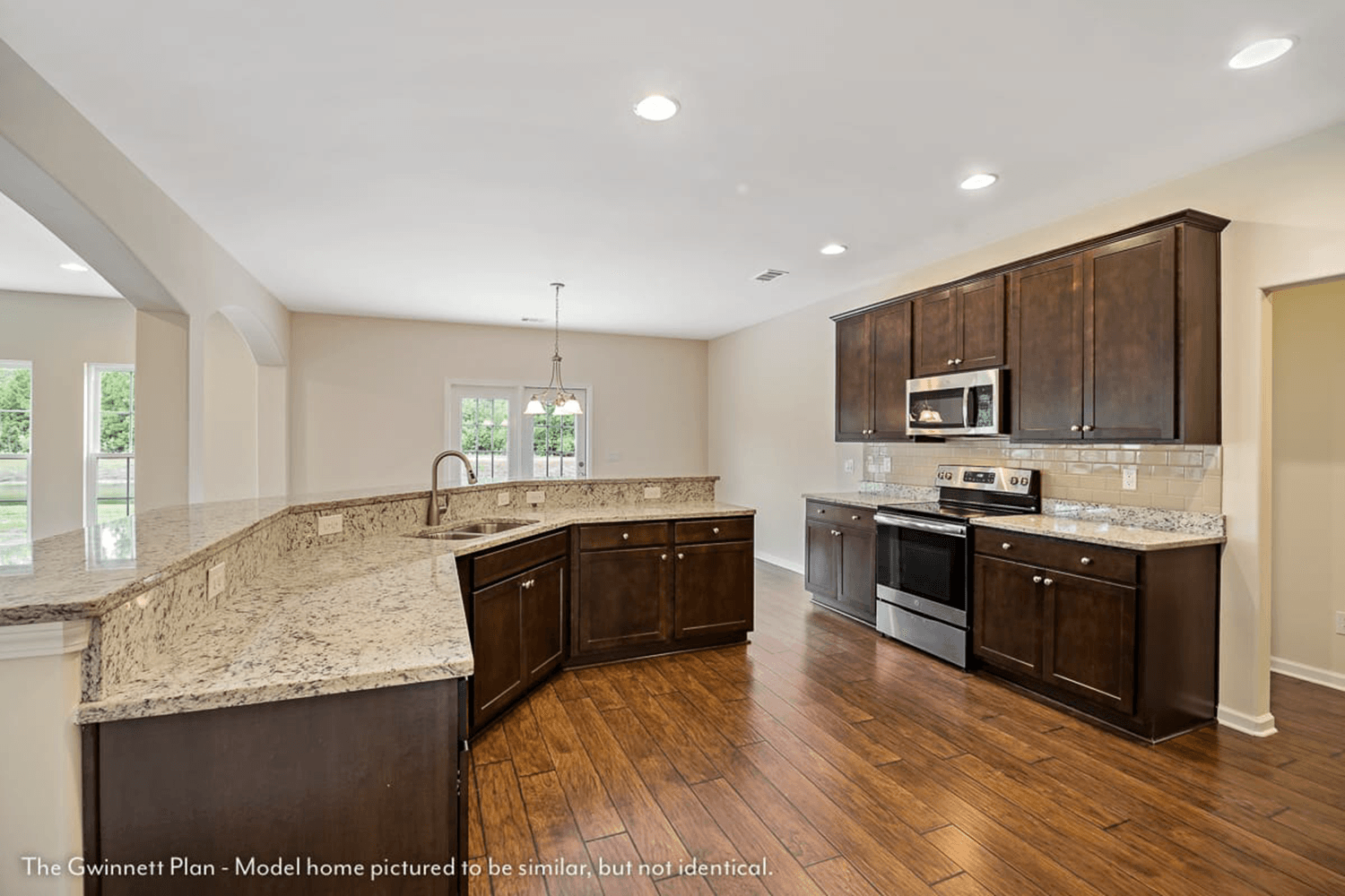 Kitchen featured in The Gwinnett (Build on your lot) By Lamar Smith Homes in Savannah, GA