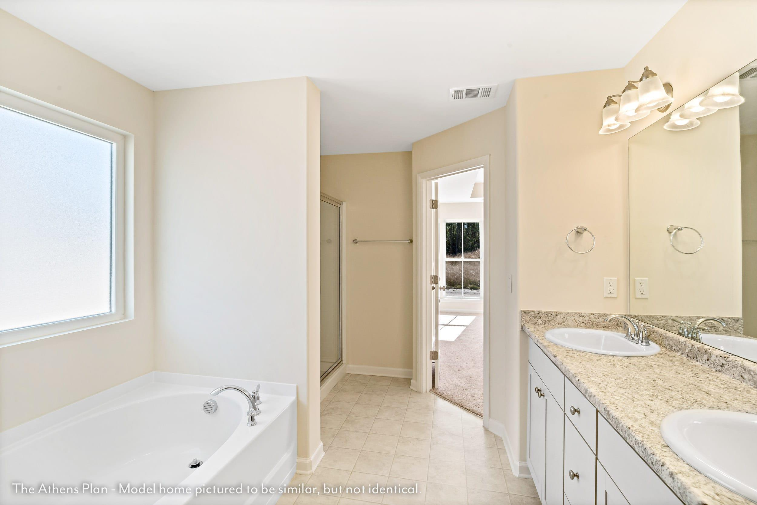 Bathroom featured in The Athens (Build on your lot) By Lamar Smith Homes in Savannah, GA