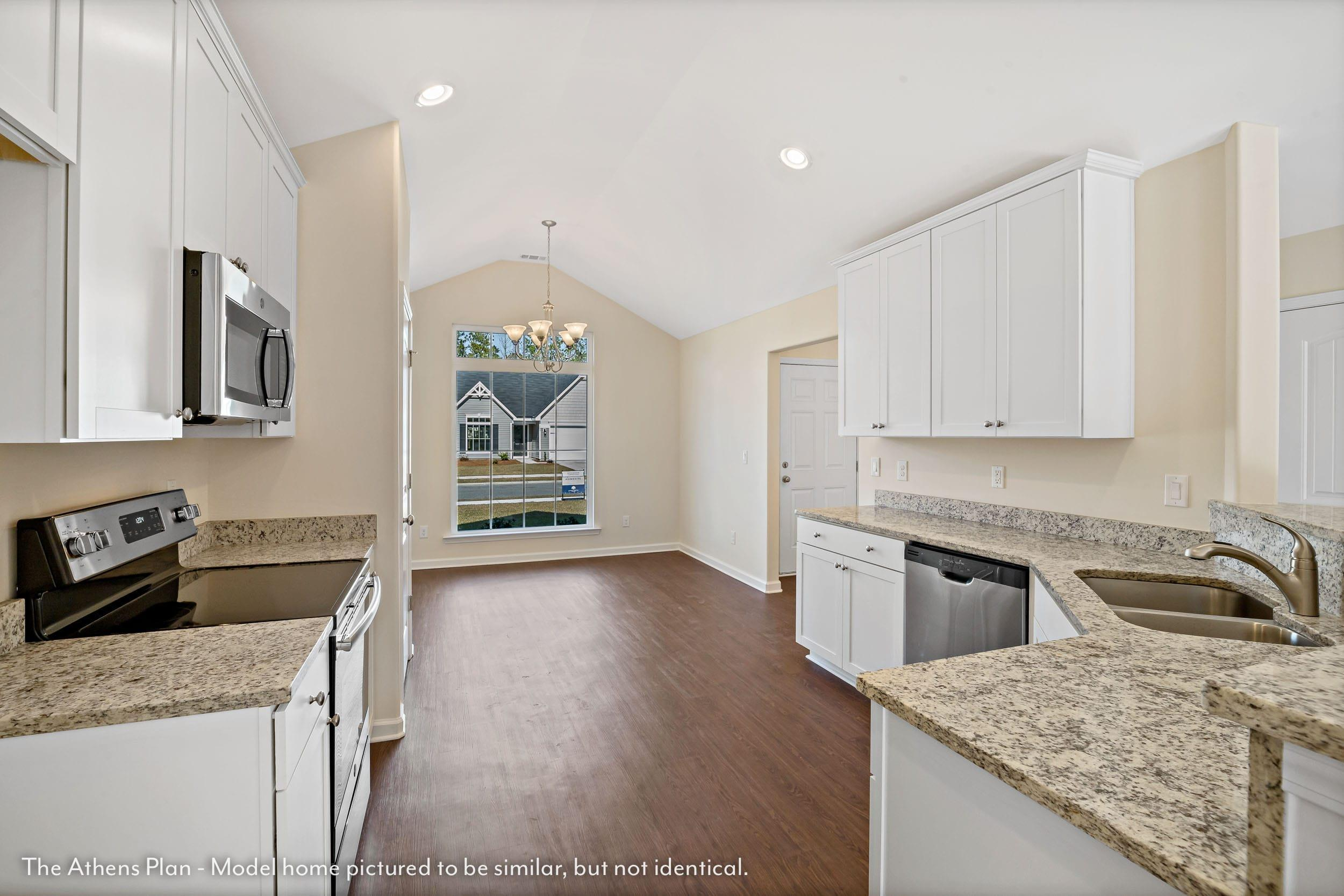 Kitchen featured in The Athens (Build on your lot) By Lamar Smith Homes in Savannah, GA