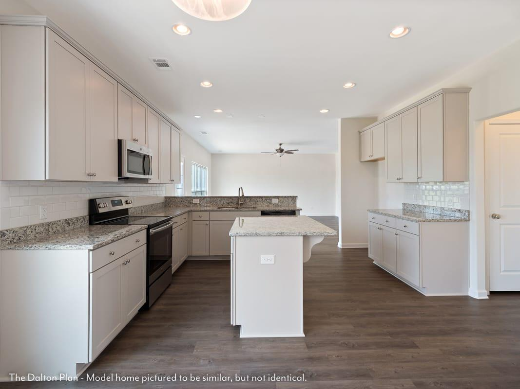 Kitchen featured in The Dalton (Build on your lot) By Lamar Smith Homes in Savannah, GA