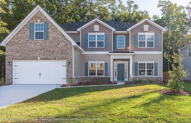 Exterior featured in The Atlanta (Build on your lot) By Lamar Smith Homes in Savannah, GA