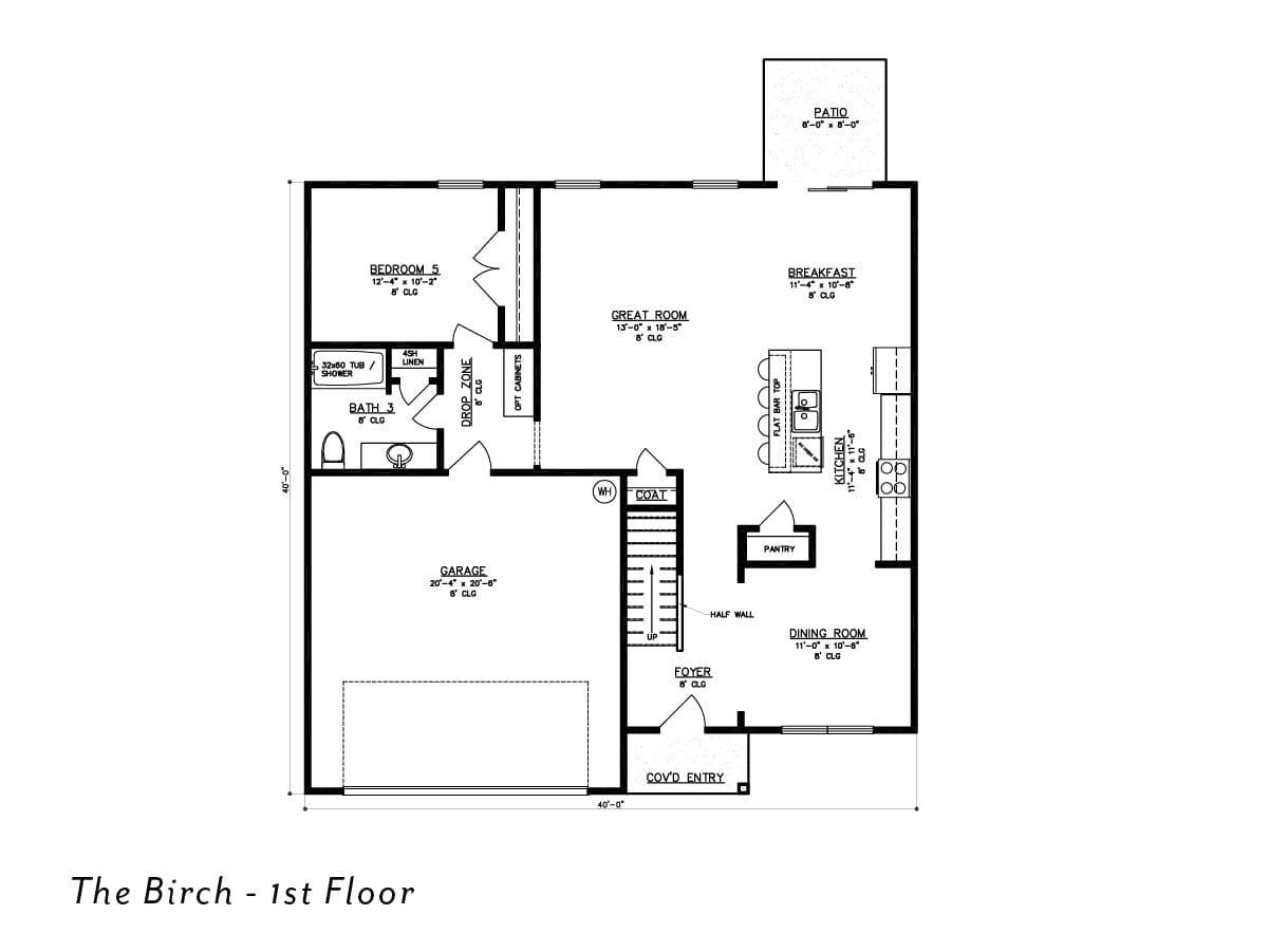The Birch 1st Floor