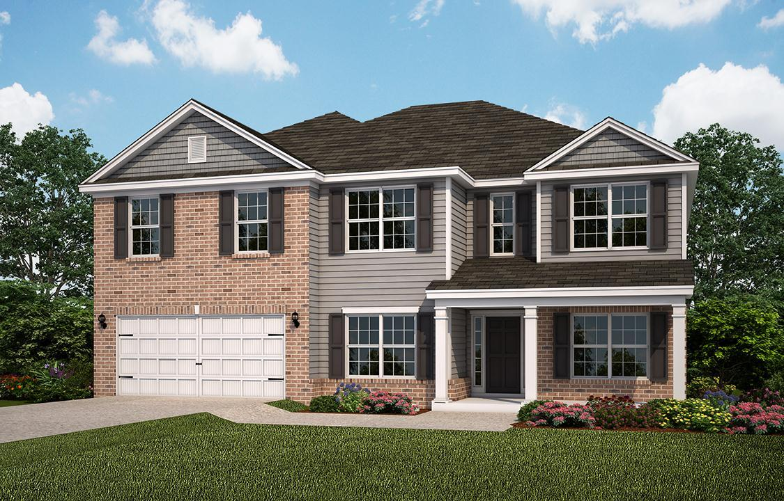 Exterior featured in The Richmond (Build on your lot) By Lamar Smith Homes in Savannah, GA