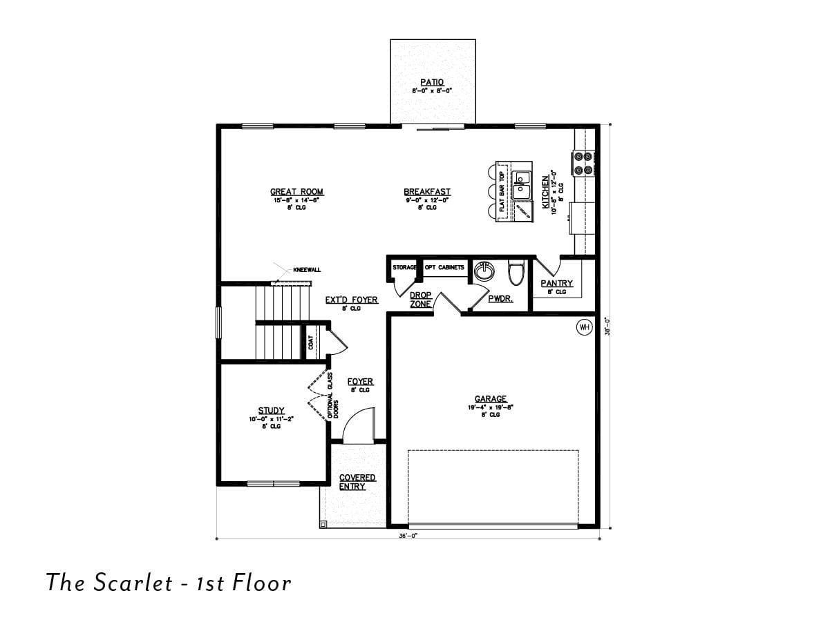 The Scarlet 1st floor
