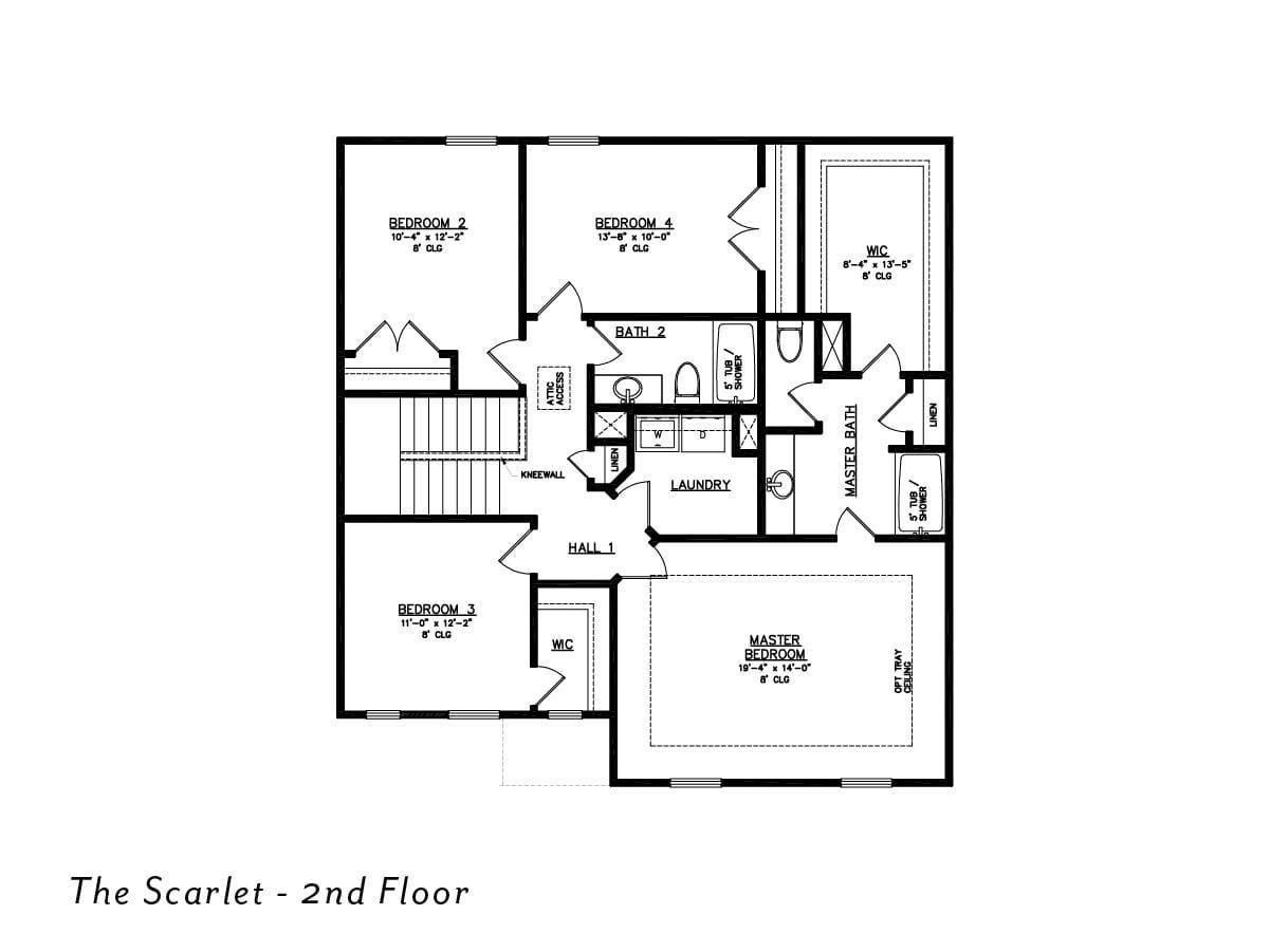 The Scarlet 2nd floor