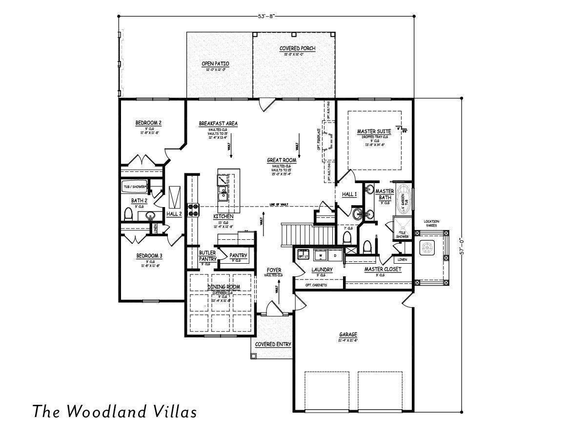 The Woodland Villas