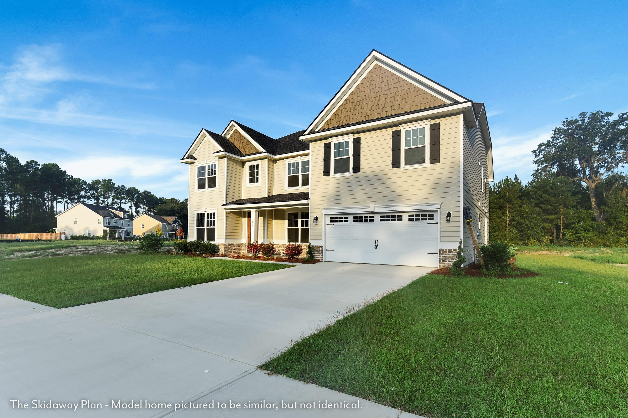Exterior featured in The Skidaway By Smith Family Homes in Savannah, GA
